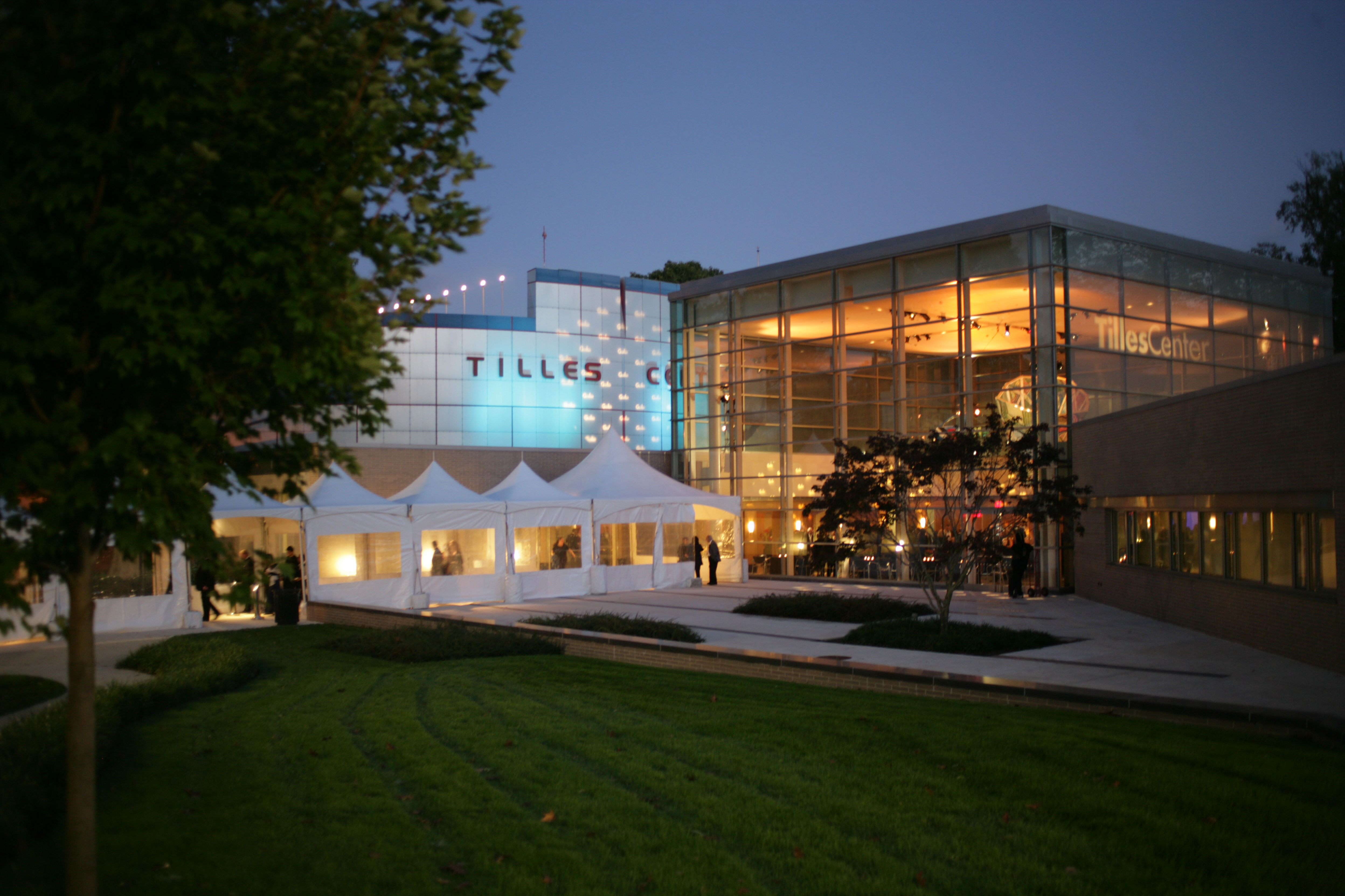 Tilles Center at Dusk