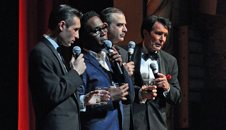 Image: Sandy Hackett Rat Pack Performing