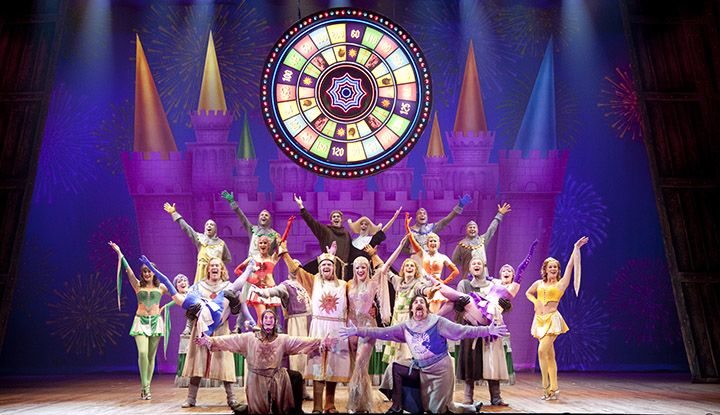 Image: Spamalot Performance Still