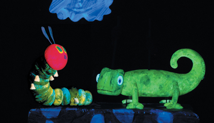 Image: Very Hungry Caterpillar Blacklight Performance Still