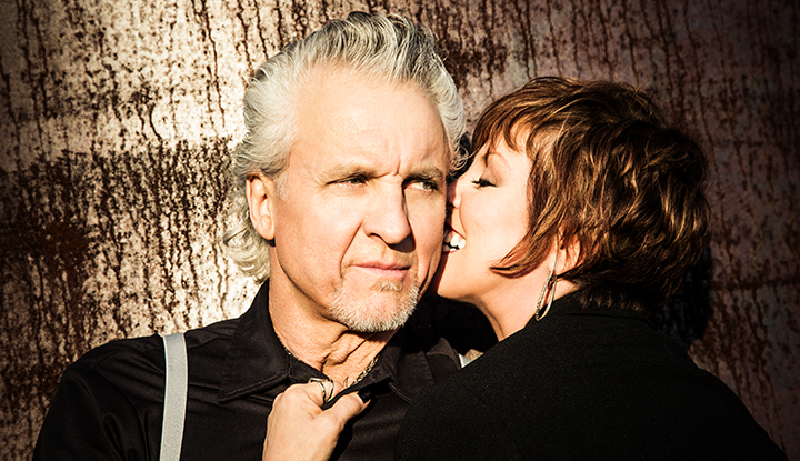 Image: Pat Benatar and Neil Giraldo embracing