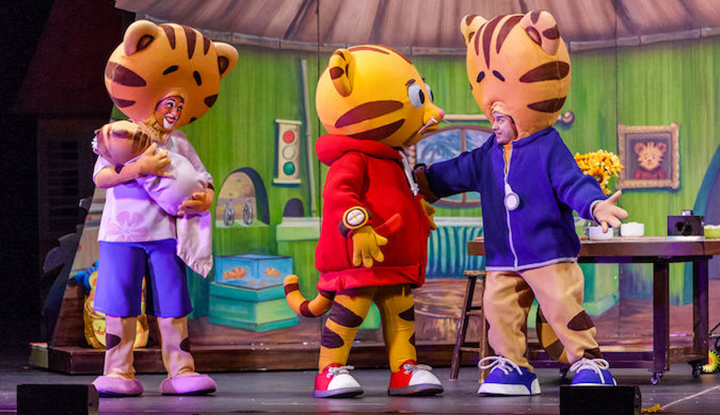 Image: Daniel Tiger and Friends LIVE on stage