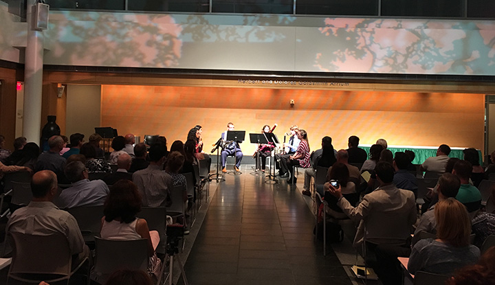Image: LIU Post Chamber Atrium Performance