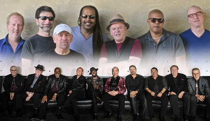 Top Image: Average White Band / Bottom Image: Tower of Power