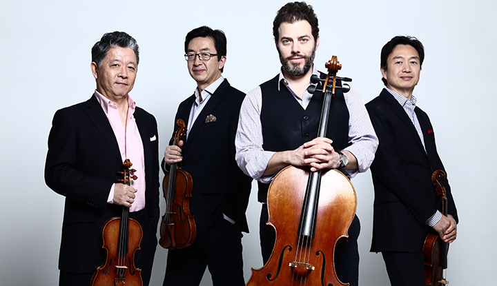 Image: Shanghai Quartet with Instruments